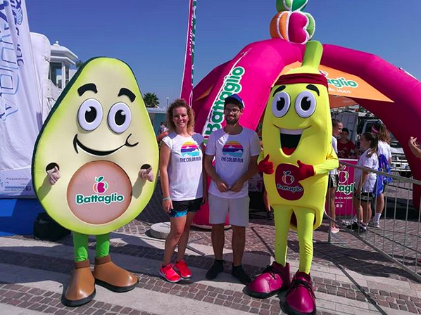 #battaglio the color run riccione