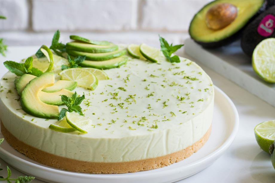 Cheescake con avocado