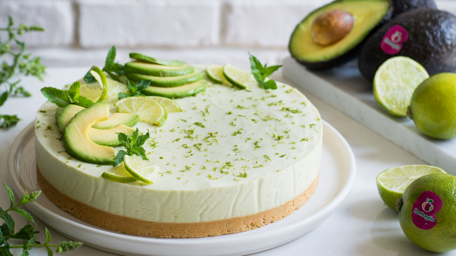 Ricetta CheeseCake Dolce Avocado Lime