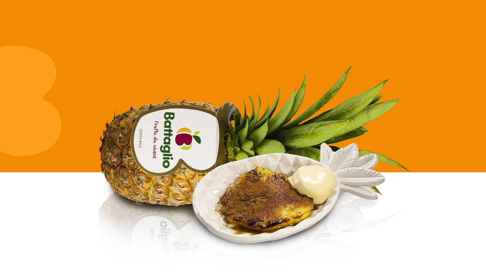 Ananas caramellato semplicissimo