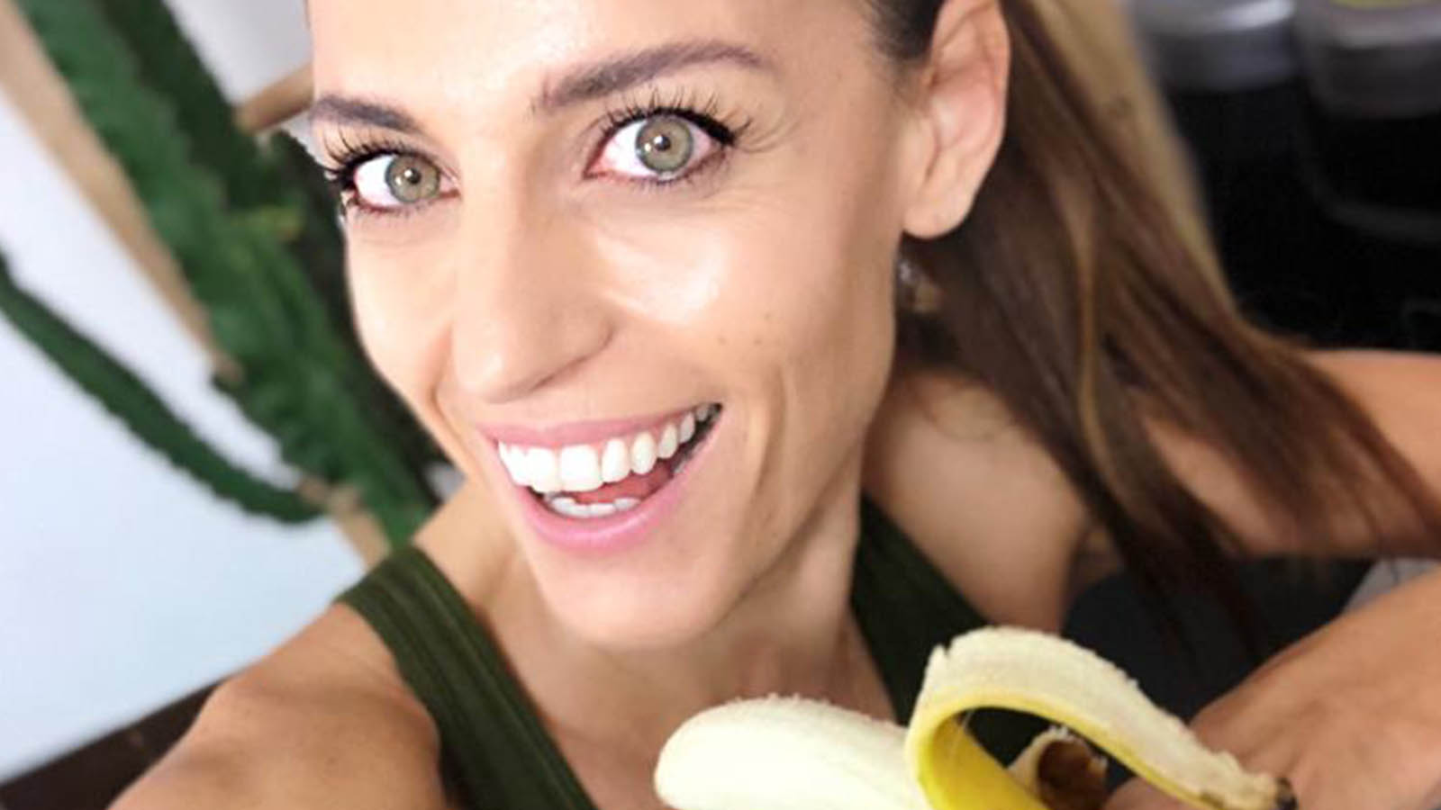 Banana post allenamento