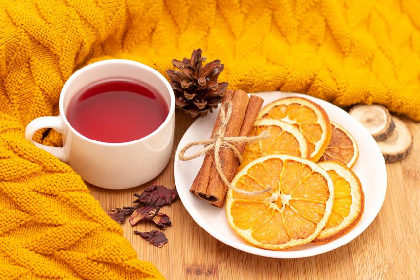 ricetta tisana arancia