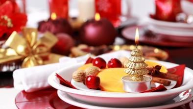 decorazioni di Natale con la frutta