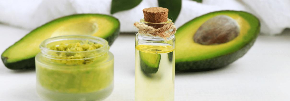 Olio di avocado per la cura del corpo