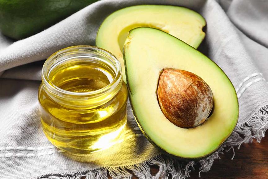Olio di avocado abbronzante