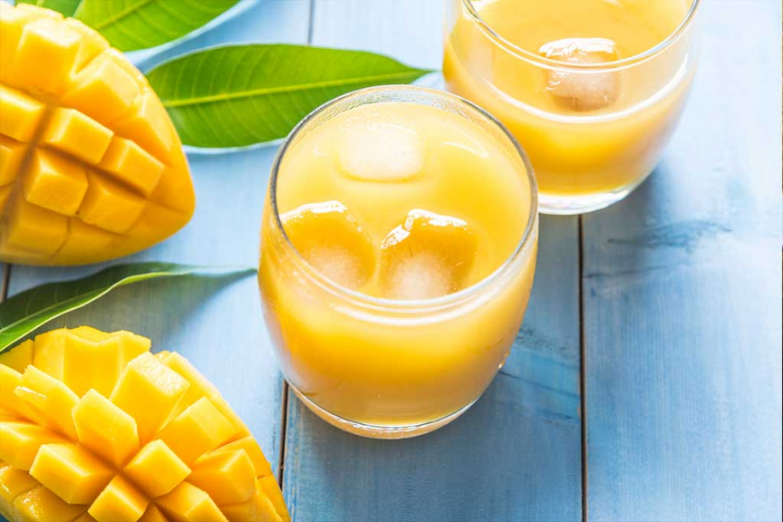 Smoothie tropicale al mango
